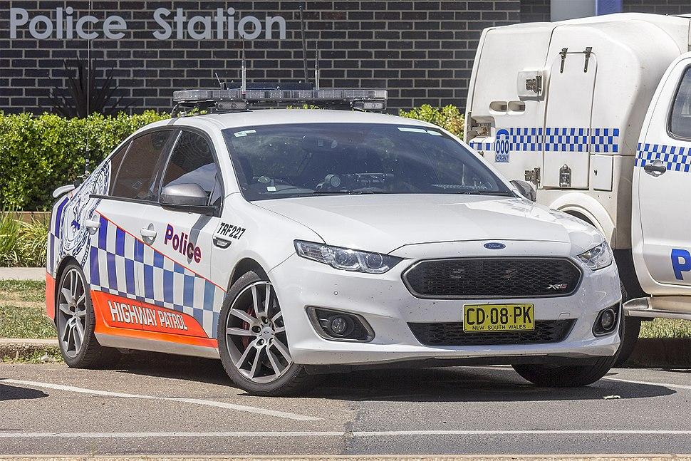 Traffic and Highway Patrol Command (TRF 227) Ford Falcon FG X XR6 Turbo at Wagga Wagga