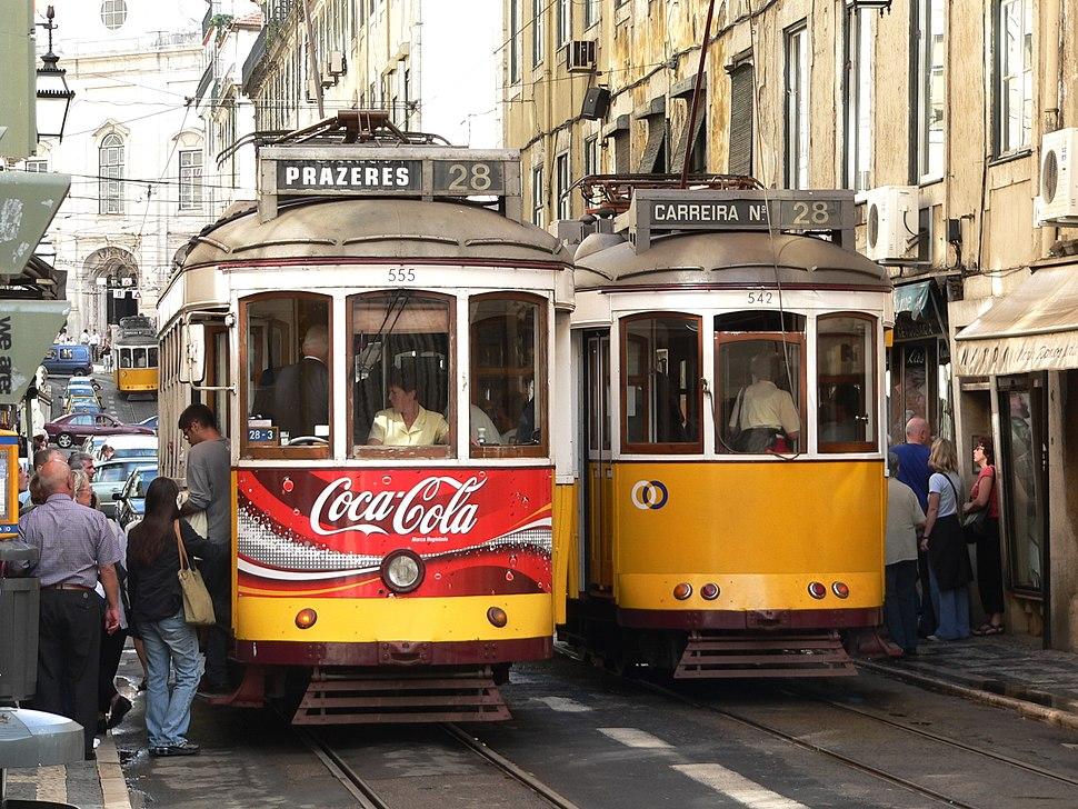 Tram 28, Lisbon, 20051011