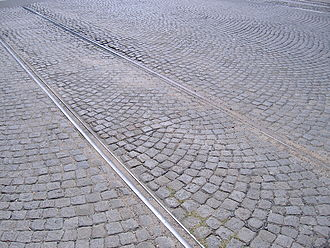 Rosario Tramway - Tracks can still be seen in the city, though they are unlikely to be the ones used.