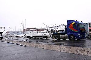 Transport routier d' un voilier de plaisance et de ses mâts (3).JPG