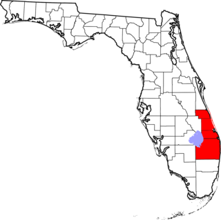 region of the U.S. state of Florida