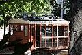 Trem do Corcovado – Primeira Máquina Elétrica na Praça perto da Estação Cosme Velho.JPG
