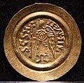 Tremisse di ariperto II con s. michele, ticinum-pavia 701-712, 02.jpg
