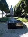 Trianon memorial (2006) and World War I obelisk, 2020 Zalaegerszeg.jpg