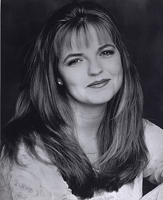 Tricia Cast - Cast, pictured in 1996