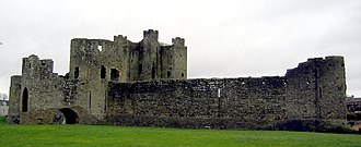 History of Ireland (1169–1536) - Trim Castle (1169-) is a major construction of this period