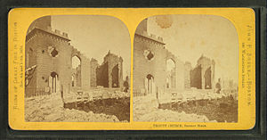 Trinity Church, Boston (Summer Street) - Image: Trinity Church, Summer Street, by Soule, John P., 1827 1904 2
