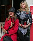 Trinny Woodall on left next to Susannah Constantine