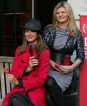 Susannah Constantine - Susannah Constantine on right next to Trinny Woodall