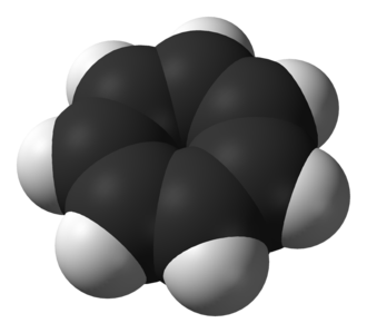 Tropylium cation - Image: Tropylium ion 3D vd W