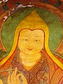 Tsongkhapa painting inside the Jokhang, Lhasa, Tibet (2007).jpg