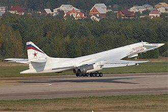 MAKS Air Show - Tupolev Tu-160 at MAKS-2007.