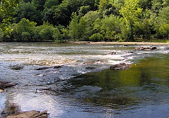 Bryson City, North Carolina - The Tuckasegee River