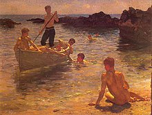 Tuke, Henry Scott (1858–1929) - 1921 - Morning splendour.jpg