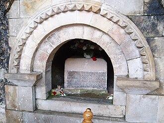 Santa Cueva de Covadonga - Tomb of Pelagius, first king of Asturias, Covadonga
