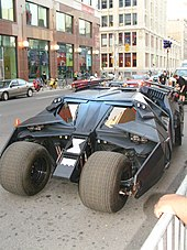 The Tumbler Batmobile From Dark Knight Trilogy
