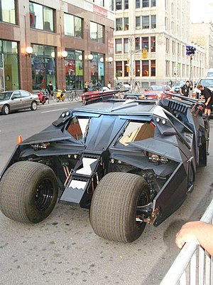 "Batmobile - The ""Tumbler"" Batmobile from The Dark Knight Trilogy"