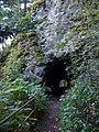 Tunel ve skále pod Bredovým mlýnem, západní vstup.jpg