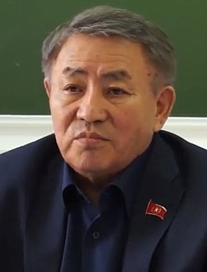 Kazakh presidential election, 2015 - Image: Turgun Sydzykov cropped