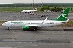 Turkmenistan Airlines, EZ-A015, Boeing 737-82K (16456772445) (2).jpg
