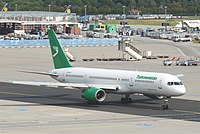 EZ-A011 - B752 - Turkmenistan Airlines