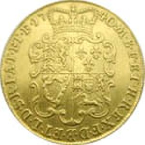 Two guineas (British coin) - TwoGuineas1740.jpeg