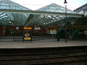 Tynemouth Metro station - Tynemouth Metro station