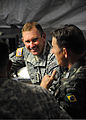 U.S. Army Lt. Gen. P.K. Keen, deputy commander of U.S. Southern Command and commanding general of Joint Task Force-Haiti, and Brazilian military Gen. Floriano Peixoto, commander of United Nations Stabilization 100311-N-HX866-004.jpg