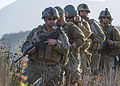 U.S. Service members assigned to various combat camera units patrol Sept 140902-N-TD490-334.jpg