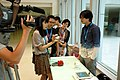 UBN TTV journalist with Gamma Sheep at COSCUP 20110820.jpg