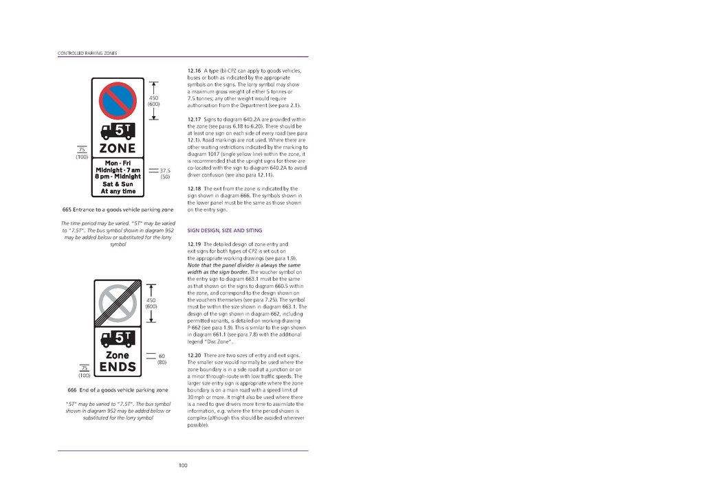 Pageuk Traffic Signs Manual Chapter 3 Regulatory Signs 2008
