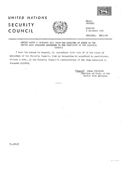 memo un security council Review memo formatting guidelines from university of maryland university college's effective writing center.