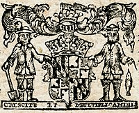 Maryland colonial seal detail (1770)
