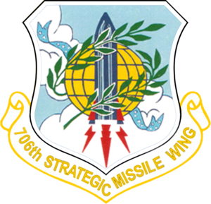 526th Intercontinental Ballistic Missile Systems Group - Image: USAF 706th Strategic Missile Wing