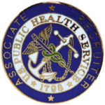 U.S. Public Health Service Commissioned Corps Associate Recruiter Badges