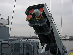 Armored Box Launcher - Image: USS New Jersey tomohawk