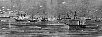 USS Bienville - Bombardment and Capture of Port Royal, South Carolina, November 7, 1861