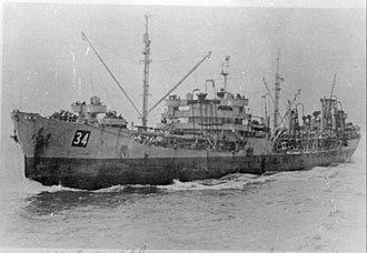 Chicopee-class oiler - Image: USS Chicopee (AO 34)