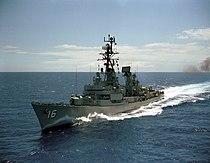 USS Joseph Strauss (DDG-16) underway on 3 June 1968 (6403804).jpg