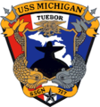 USS Michigan SSGN-727 Crest.png