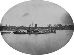 USS Ozark (1863) - Image: USS Ozark (1864 1865) NH 61472