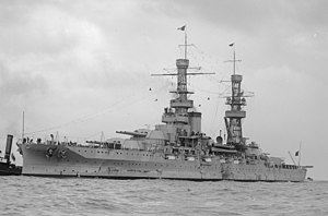 USS Pennsylvania (BB-38) - USS Pennsylvania during visit to Australia in 1925