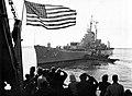 USS Rochester (CA-124) leaves Long Beach in January 1959.jpg
