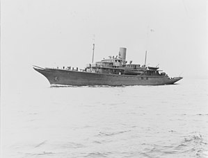 USS St. Augustine (PG-54) - Image: USS St. Augustine off the Boston Navy Yard, Massachusetts, 27 May 1941 19 N 24213
