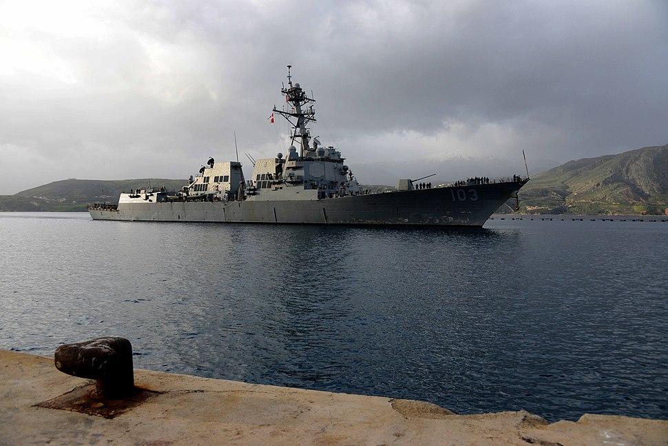 USS Truxtun PASSEX 140303-N-JE719-061