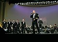 US Navy 071013-N-0303C-040 Senior Chief Musician John L. Fisher performs with the U.S. Navy Band during the annual Navy Birthday Concert titled American Faces on October 13, 2007, to commemorate the Navy's 232nd birthday.jpg
