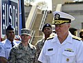 US Navy 090423-N-8273J-059 Chief of Naval Operations (CNO) Adm. Gary Roughead, right, attends a ribbon cutting ceremony for the new Mobile USO Program at the Pentagon.jpg