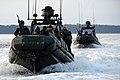 US Navy 120204-N-YX920-257 Riverine Squadron 3 Detachment 3 tows a downed boat during Exercise Bold Alligator 2012.jpg