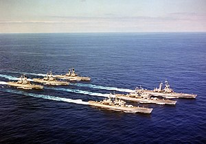 US nuclear powered cruisers underway in 1981.JPEG