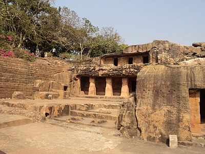 Udayagiri and Khandagiri Caves1.JPG